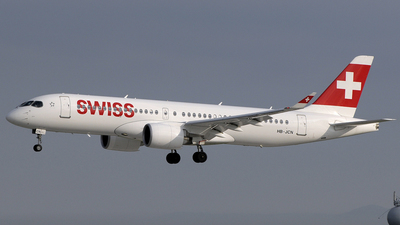 HB-JCN - Bombardier CSeries CS300 - Swiss