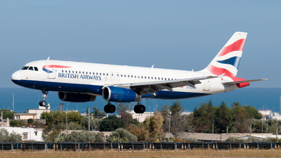 A picture of GEUUG - Airbus A320232 - British Airways - © Enzo Gattullo - Plane Spotters Bari