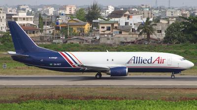A picture of 5NRKT - Boeing 7374Q8(SF) - Allied Air - © Sander