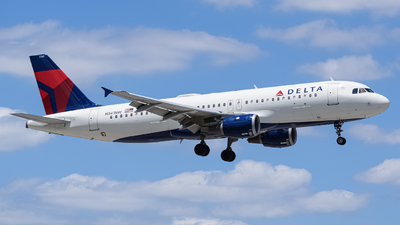 N341NW - Airbus A320-211 - Delta Air Lines