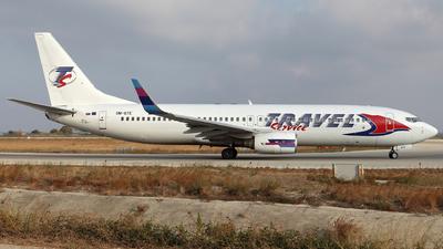 OM-GTE - Boeing 737-8AS - Travel Service (Go2Sky)