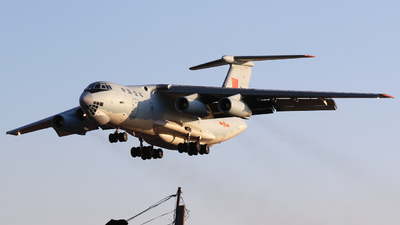 21142 - Ilyushin IL-76MD - China - Air Force
