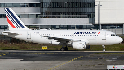 A picture of FGRHL - Airbus A319111 - Air France - © Bjoern Huke