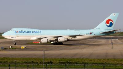 A picture of HL7603 - Boeing 7474B5F(ER) - Korean Air - © TasKforce404-HK416