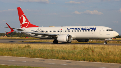 A picture of TCLCC - Boeing 737 MAX 8 - Turkish Airlines - © Peter Bakema
