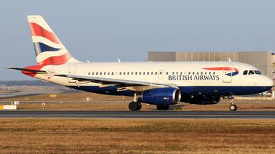 G-EUPX - Airbus A319-131 - British Airways