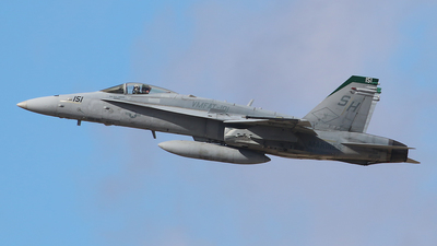 164025 - McDonnell Douglas F/A-18C Hornet - United States - US Navy (USN)