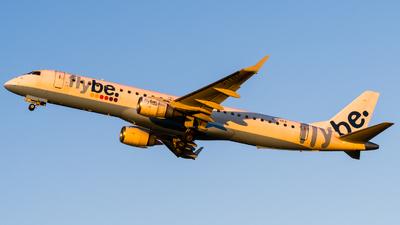 G-FBEK - Embraer 190-200LR - Flybe