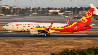 B-5463 - Boeing 737-84P - Hainan Airlines