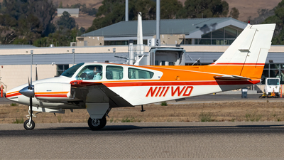 N111WD - Beechcraft 95-B55 Baron - Private