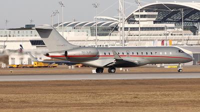 A picture of 9HVJR - Bombardier Global 6000 - VistaJet - © Heidi Wanninger