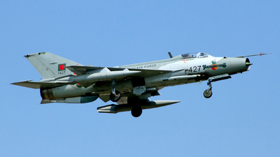 1427 - Chengdu F-7MB - Bangladesh - Air Force