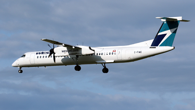 C-FIWE - Bombardier Dash 8-Q402 - WestJet Encore