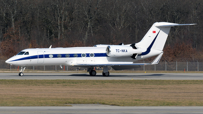 TC-NKA - Gulfstream G450 - Private