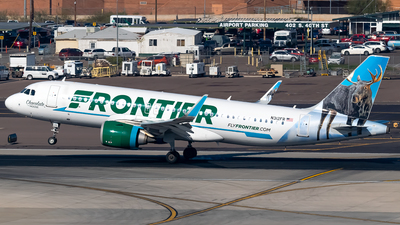 N312FR - Airbus A320-251N - Frontier Airlines