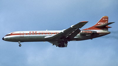 EC-CMS - Sud Aviation SE 210 Caravelle 10B3 - TAE Trabajos Aereos y Enlaces