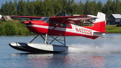 A picture of N42026 - Cessna 180J Skywagon - [18052302] - © Alex