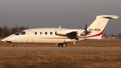 9H-RDG - Piaggio P-180 Avanti - Private