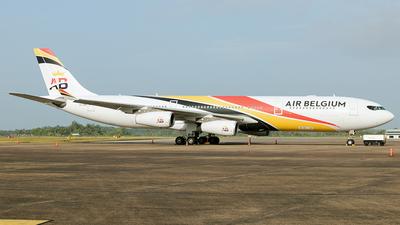 OO-ABA - Airbus A340-313 - Air Belgium