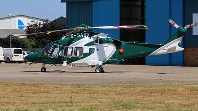 G-SASX - Agusta-Westland AW-169 - Specialist Aviation Services