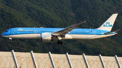 A picture of PHBHI - Boeing 7879 Dreamliner - KLM - © Jack Sin - HKPSA