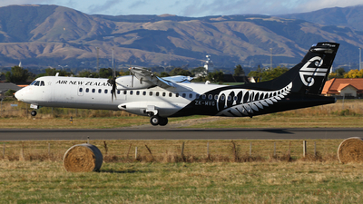 A picture of ZKMVG - ATR 72600 - Air New Zealand - © J. Williams