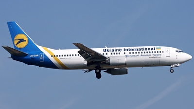 UR-GAR - Boeing 737-4Y0 - Ukraine International Airlines