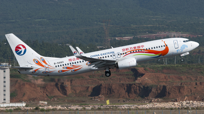 B-5683 - Boeing 737-86N - China Eastern Airlines