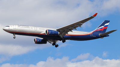 A picture of VPBDE - Airbus A330343 - Aeroflot - © Vitaly Revyakin