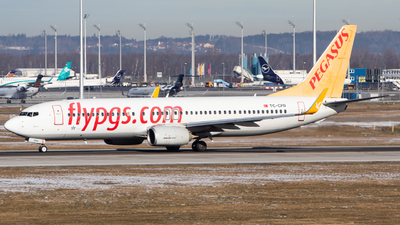 A picture of TCCPD - Boeing 73782R - Pegasus Airlines - © Tim Donell