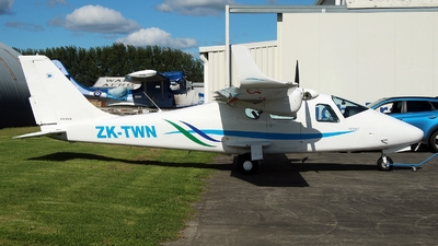 ZK-TWN - Tecnam P2006T - Private