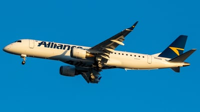 N922QQ - Embraer 190-100IGW - Alliance Airlines