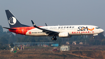 B-1932 - Boeing 737-85N - Shandong Airlines