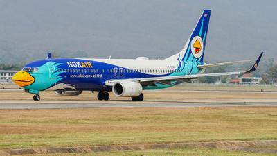 HS-DBP - Boeing 737-8FZ - Nok Air
