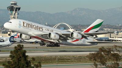 A6-EOC - Airbus A380-861 - Emirates