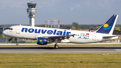 TS-INH - Airbus A320-211 - Nouvelair
