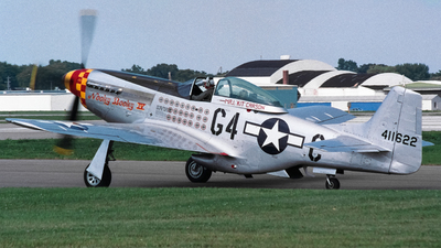 N2251D - North American P-51D Mustang - Private