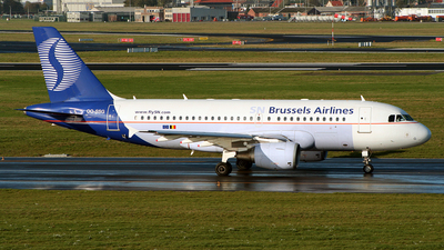 OO-SSG - Airbus A319-112 - SN Brussels Airlines