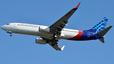 PK-CME - Boeing 737-8Q8 - Sriwijaya Air