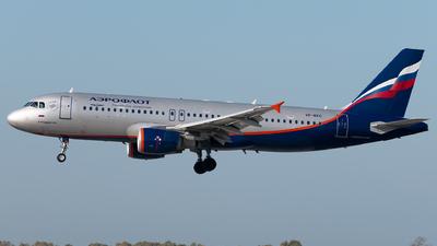 A picture of VPBKC - Airbus A320214 - Aeroflot - © Matei Dascalu - RomeAviationSpotters