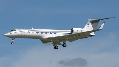 P4-BFY - Gulfstream G550 - Private