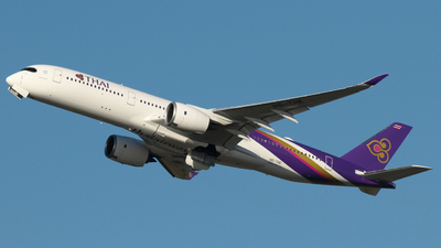 HS-THE - Airbus A350-941 - Thai Airways International
