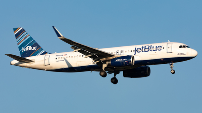N807JB - Airbus A320-232 - jetBlue Airways