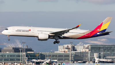 A picture of HL8078 - Airbus A350941 - Asiana Airlines - © Sierra Aviation Photography