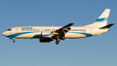 SP-ENB - Boeing 737-4Q8 - Enter Air