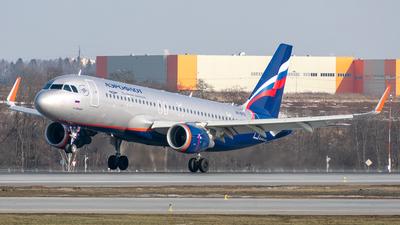 A picture of VPBTO - Airbus A320214 - Aeroflot - © Aleksandr Alekhichev