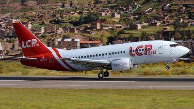 N821AU - Boeing 737-530 - LC Perú