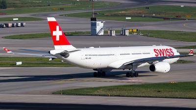 HB-JHG - Airbus A330-343 - Swiss