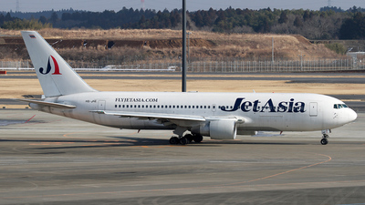HS-JAE - Boeing 767-233(ER) - Jet Asia Airways