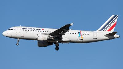 F-GKXJ - Airbus A320-214 - Air France
